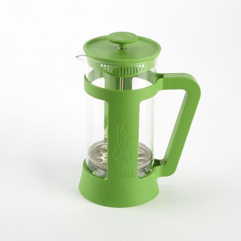 Bialetti coffee press in green