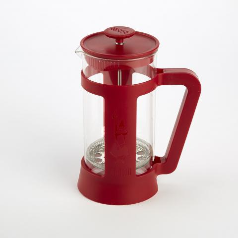 Bialetti coffee press in red