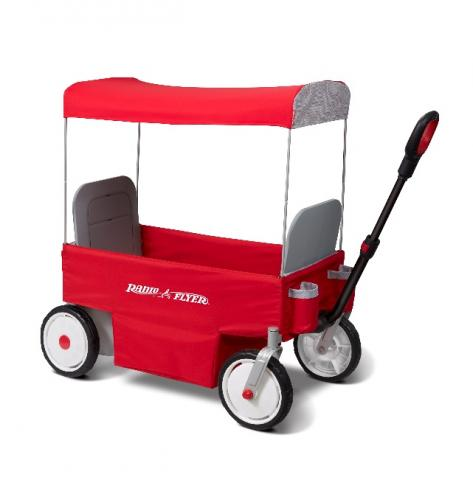 I stop to help a kid change a wheel on his Radio Flyer wagon, mused Collins..