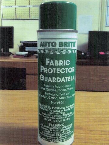 Auto Brite Fabric Protector Guardatela