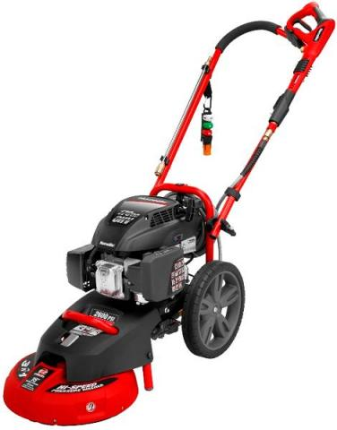 Power Washer with surface cleaner attachment