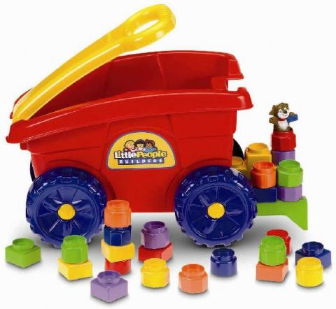 Little People Builders' Load 'n Go Wagon