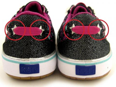 KEDS Girls' Shoes (back)