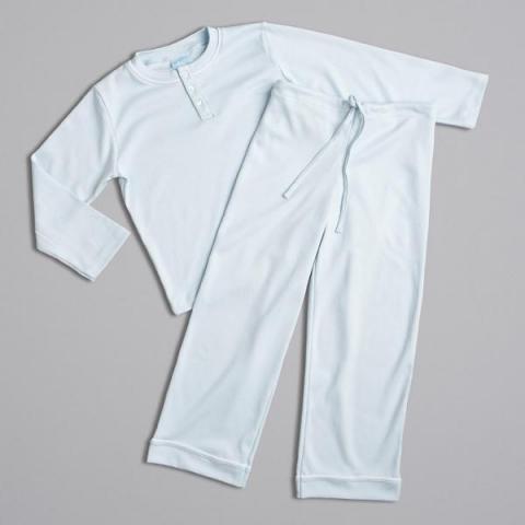 Children's Henley Pima Cotton pajamas