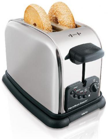Hamilton Beach Classic Chrome 2,4 Slice Toasters
