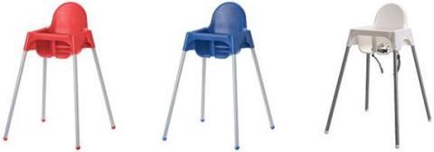 IKEA Recalls to Repair High Chairs