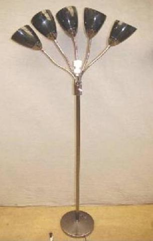 Big Lots 5-Light Floor Lamp with dark shades