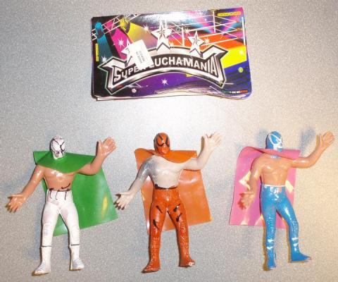 Mexican Wrestling Action Figures