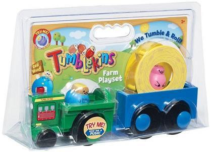Tumblekins Farm Playset