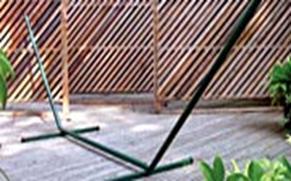 Twin Oaks hammock stand