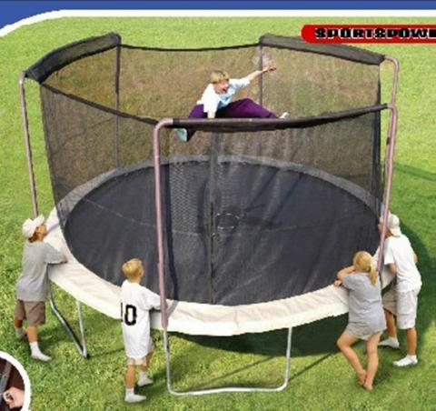 Trampolines Recalled By Sportspower Limited Due To Fall Hazard Sold