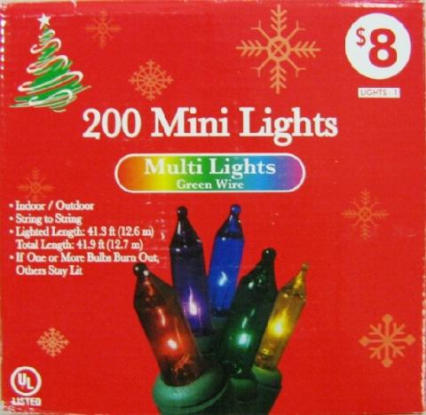 family dollar stores recalls decorative light sets due to fire and electrical shock hazard - Family Dollar Christmas Decorations