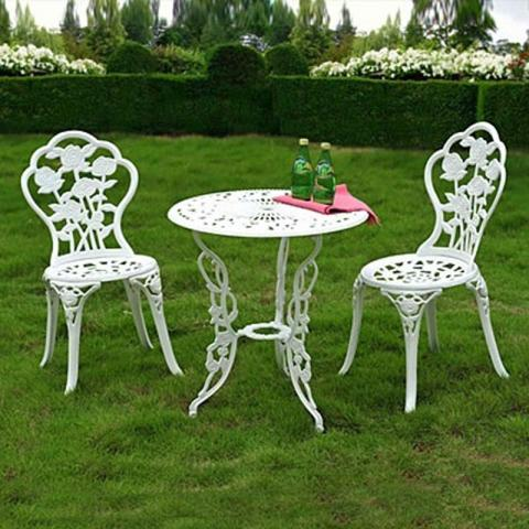 Three-piece patio sets : bistro table set big lots - pezcame.com