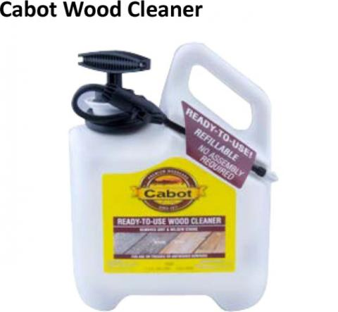 Cabot Wood Cleaner