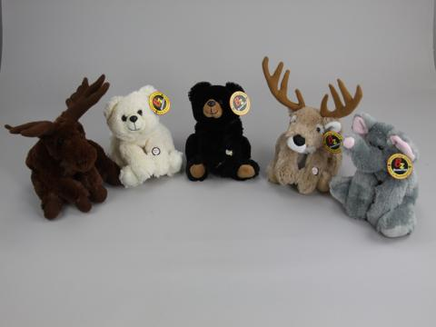 Purr-Fection Stuffed Animals with LED Flashlights