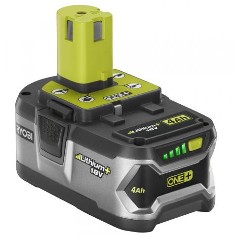 Ryobi lithium-ion 18 V 4Ah battery pack, model P108 and part number 130429028