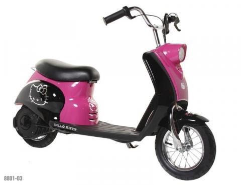 City Scooter with Hello Kitty graphics, model number 8801-03