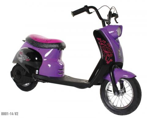 City Scooter with Monster High graphics, model number 8801-14