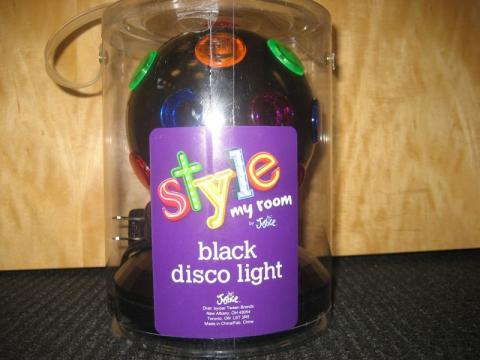 Black Disco Light, style 900528