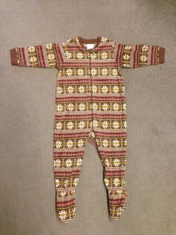Recalled UNIQLO one-piece pajama