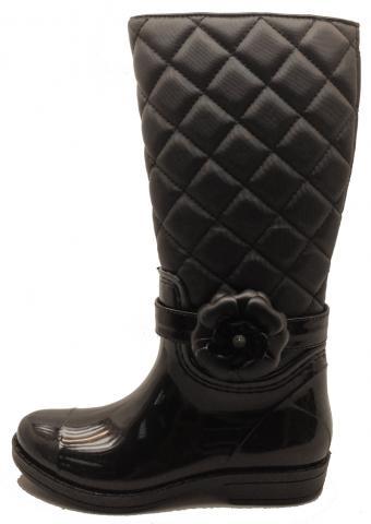 Cha Cha boots black