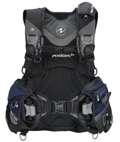 Aqua Lung Buoyancy Compensator with weight pockets and handles