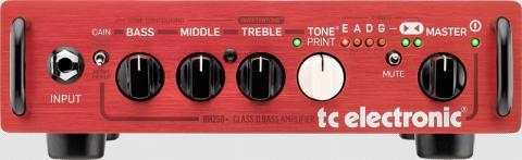 tc electronic 250 W bass guitar amplifier, model BH250