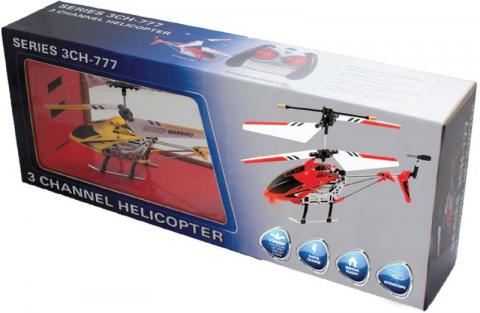 Radio Controlled Banshee Helicopter with lights model 3CH-777