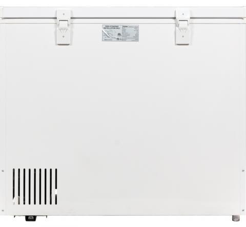 Haier® Freezers model HNCM070E back view