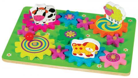 Spin-A-Mals Farm Puzzle