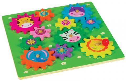 Spin-A-Mals Safari Puzzle