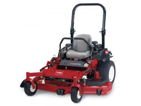 2012 and 2013 Toro Z Master Commercial 2000 Series ZRT riding mower, model 74145