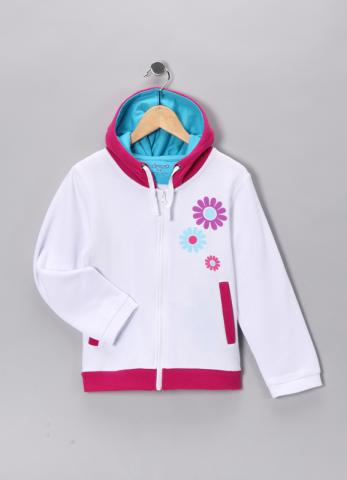 Deezo White Sweatshirt #12505