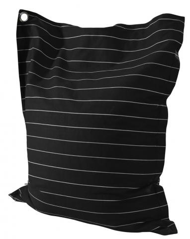 Striped Black & White Anywhere Lounger 199-B014
