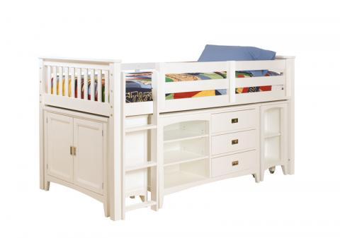 Incroyable Lea Industries Childrenu0027s Loft Bed