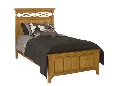 Lea Industries Americana children's panel bed