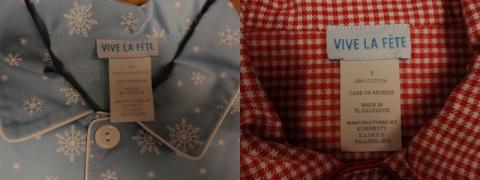 Vive La Fete Pajamas Style HSH159BPL