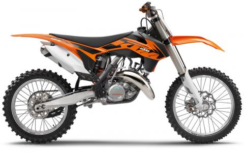 2013 KTM 125 SX, 150 SX and 250 SX models