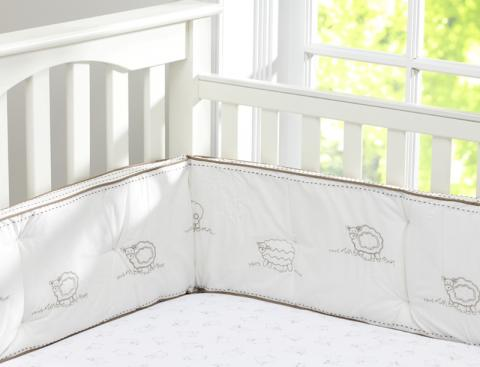 Pottery Barn Kids Recalls Sweet Lambie Crib Bumpers Due To