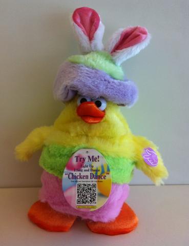 """Dan-Dee """"Chicken Dance"""" Easter Chick"""
