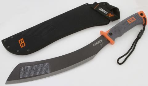 Gerber Parang Machete with Stitched Sheath