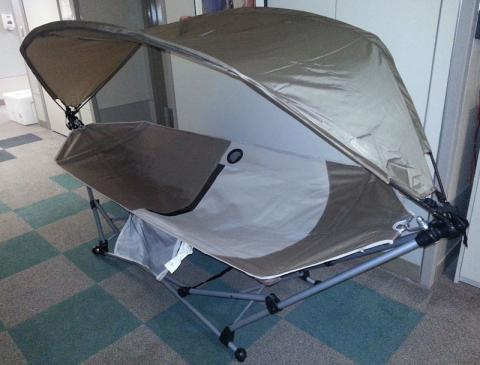 hammock with shade fully opened  outdoor solutions hammock and sunshade recalled by h e b due to      rh   cpsc gov