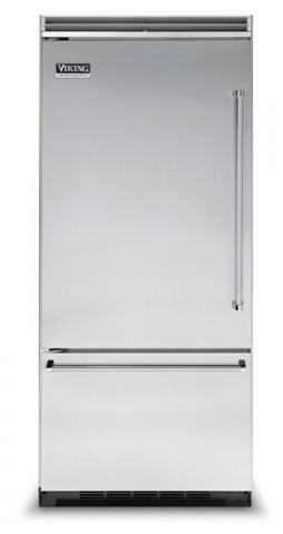 Viking refrigerator with bottom freezer