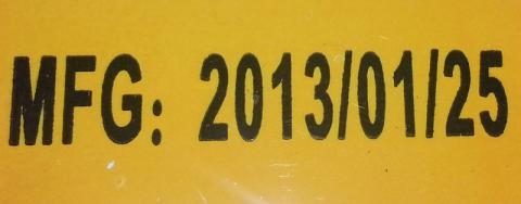 Manufacturing label