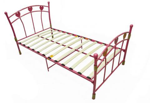 Pink bed frame