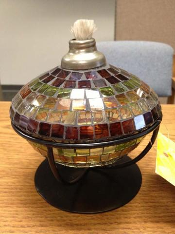 Big Lots small tabletop torch