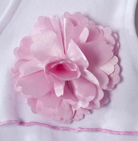 Close-up of flower on HALO SleepSack