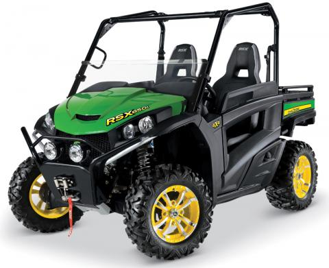 John Deere Gator RSX850i Base utility vehicle