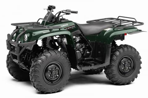 Green Yamaha Big Bear 400