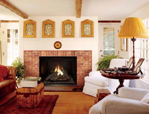 ELDV model fireplace